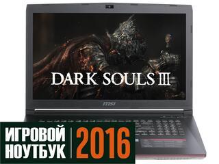 """17.3"""" Ноутбук MSI GP72 6QF-275XRU Leopard Pro черный"""