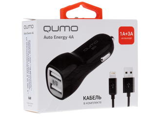 Автомобильное зарядное устройство Qumo Energy
