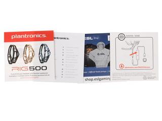 Наушники Plantronics RIG 500HD