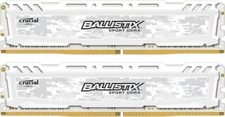 Оперативная память Crucial Ballistix Sport LT White [BLS2K16G4D240FSC] 32 Гб