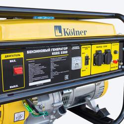 Бензиновый электрогенератор Kolner KGEG 5500