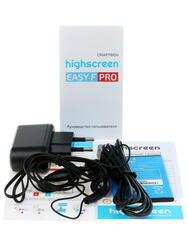 """4.5"""" Смартфон Highscreen Easy F PRO 8 Гб синий"""