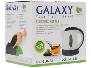 Электрочайник Galaxy GL 0222 белый