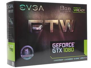 Видеокарта EVGA GeForce GTX 1080 FTW GAMING ACX 3.0 [08G-P4-6286-KR]