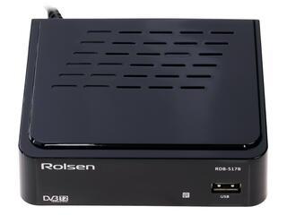 Приставка для цифрового ТВ Rolsen RDB-517B