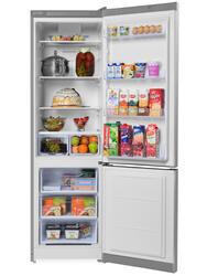 Холодильник с морозильником INDESIT DF 5200 серебристый