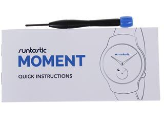 Мультиспортивные Runtastic Moment Classic серебристый
