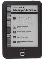 6'' Электронная книга ONYX Boox Миклухо-Маклай черный