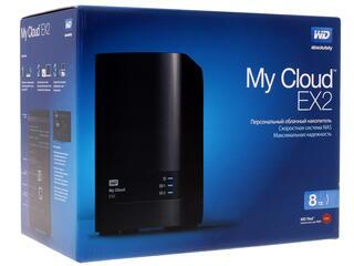 Сетевое хранилище Western Digital My Cloud EX2