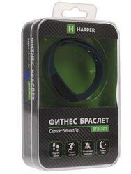 Фитнес-браслет HARPER BFB-301 черный
