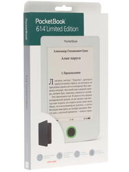 6'' Электронная книга PocketBook 614 L.E. белый + чехол