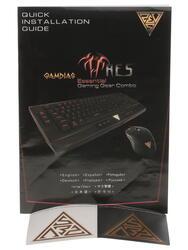 Клавиатура+мышь Gamdias Ares Essential Gaming Gear Combo