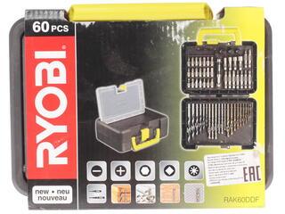 Набор сверл и насадок-бит Ryobi RAK60DDF