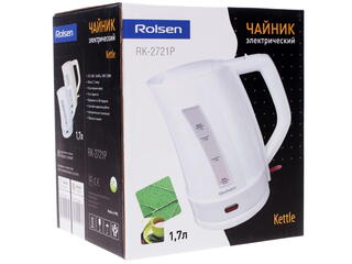 Электрочайник Rolsen RK-2721P белый