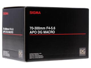 Объектив Sigma AF 70-300 F/4-5.6 APO Macro DG