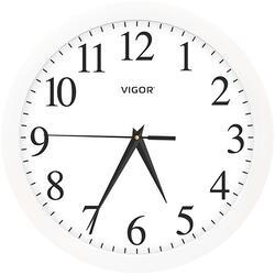 Часы настенные Vigor Д-29 Классика в белом