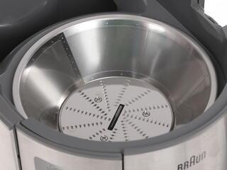 Соковыжималка Braun J 700 серебристый
