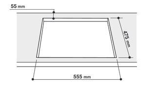 Газовая варочная поверхность Indesit PA 64 S (IX)