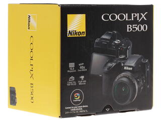 Компактная камера Nikon Coolpix B500 черный