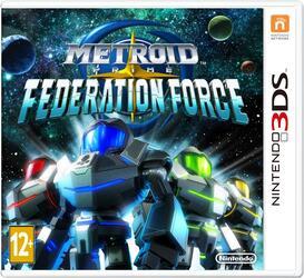 Игра для 3DS Metroid Prime Federation Force