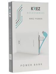 Портативный аккумулятор KREZ LP250111AW белый