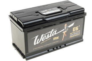 Автомобильный аккумулятор Westa 6ст-100 VL