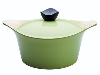 Кастрюля Frybest GRCY-C24 Ever Green зеленый
