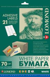 Самоклеящаяся бумага Lomond 2100145