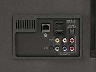 "55"" (139 см)  LED-телевизор DEXP U55B9000H серебристый"