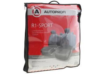 Чехлы на сиденье AUTOPROFI R-1 SPORT R-802 черный