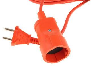 Удлинитель силовой Эра UP-1-2x1.0-30m оранжевый
