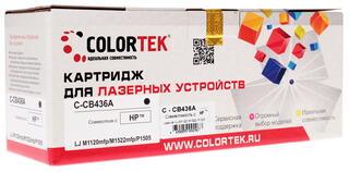 Картридж лазерный Colortek CB436A