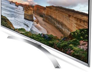 "49"" (125 см)  LED-телевизор LG 49UH850V серебристый"