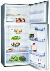 Холодильник с морозильником Hisense RD-65WR4SBX серебристый