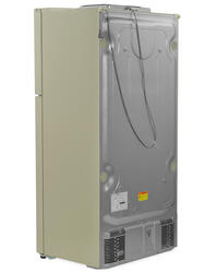 Холодильник с морозильником LG GR-M802HEHM бежевый