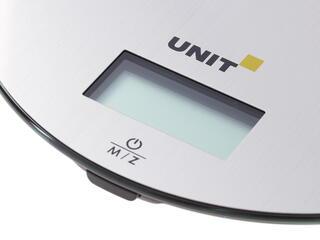 Кухонные весы UNIT UBS-2150 серебристый