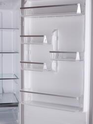 Холодильник с морозильником JETA HD-400DHS серебристый