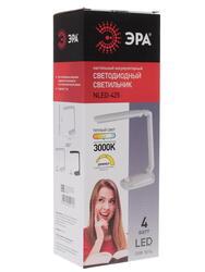 Настольный светильник ЭРА NLED-425 белый