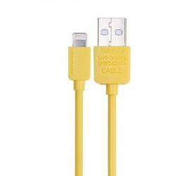 Кабель Remax Light  USB - Lightning 8-pin желтый