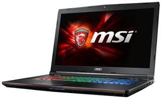 "17.3"" Ноутбук MSI GE72 Apache Pro 6QF-012RU черный"