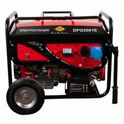 Бензиновый электрогенератор DDE DPG5501E