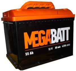 Автомобильный аккумулятор Mega Ватт 6ст-55 АПЗ