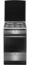 Газовая плита Hansa FCGX53020 серебристый, черный