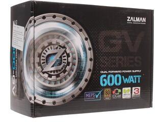 Блок питания Zalman GV 600W [ZM600-GV]