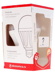 Лампа светодиодная Экономка LED 20W A80 E2730
