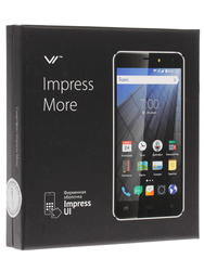 """5.5"""" Смартфон Vertex Impress More 8 Гб черный"""