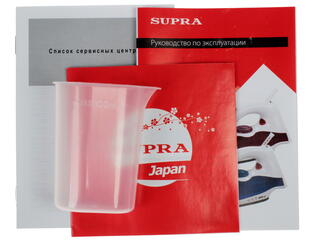 Утюг Supra IS-0500P красный