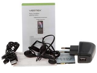 Сотовый телефон Vertex D511 зеленый