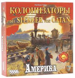 Игра настольная колонизаторы: Америка