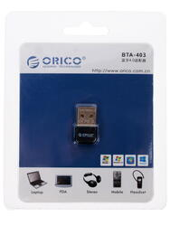 Bluetooth адаптер ORICO BTA-403-BK